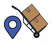 Icon showing local movers in our Fort Worth TX moving company