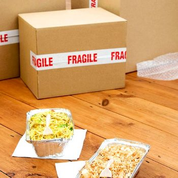 Food with Moving Boxes