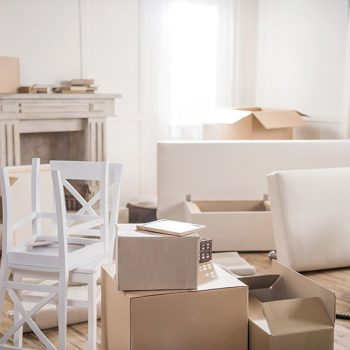 Moving Boxes in Apartment